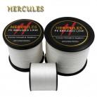 258.3 руб. 5% СКИДКА|Hercules PE плетеная леска комплексную белый рыбалка шнур сильный 4 нити 100 м 300 м 500 м 1000 м 1500 м 2000 м лески купить на AliExpress