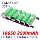 765.07 руб. 28% СКИДКА|Новый 6 шт. liitokala батарея 18650 перезаряжаемые 2500 мАч литиевая 18650 inr1865025RM 20A для электронных сигарет-in Подзаряжаемые батареи from Бытовая электроника on Aliexpress.com | Alibaba Group