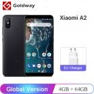 9446.62 руб. |Глобальная версия Xiaomi mi A2 mi A2 4 Гб Оперативная память 64 Гб Встроенная память Мобильный телефон Snapdragon 660 Octa Core 5,99