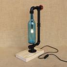 5339.65 руб. 29% СКИДКА|Современная промышленность абажур бутылка Настольная лампа с переключатель включает G4 настольная лампа для спальни прикроватной 220 V-in Настольные лампы from Лампы и освещение on Aliexpress.com | Alibaba Group