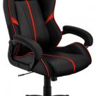 Купить Компьютерное кресло ThunderX3 BC1 игровое, обивка: искусственная кожа, цвет: black/red по низкой цене с доставкой из маркетплейса Беру