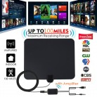 US $12.75 25% OFF|100 Miles Antena TV Digital HDTV Indoor TV Antenna with Signal Amplifier Booster Freeview Antennas DVB T DVB T2 UHF VHF Antenas-in TV Antenna from Consumer Electronics on Aliexpress.com | Alibaba Group