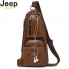 1239.26 руб. 47% СКИДКА|Jeep buluo/мужские сумки мессенджеры, новая популярная сумка через плечо известного бренда, мужские кожаные сумки на лямках, модная повседневная сумка 6196-in Сумки-кроссбоди from Багаж и сумки on Aliexpress.com | Alibaba Group