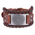 323.72 руб. 5% СКИДКА|Мой форма Викинг Vegvisir компасы браслеты Nordic руны Odin символ обёрточная бумага пояса из натуральной кожи для мужчин Jewelry интимные аксессуары купить на AliExpress