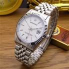 939.8 руб. 31% СКИДКА HK модный бренд Реджинальд водонепроницаемый для мужчин леди любителей Полный нержавеющая сталь с Календари Часы платье бизнес подарки наручн купить на AliExpress