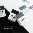 JIANWU 2020 Mini desk Calendar creative Index Decorative note Label Calendar memo pad DIY bullet journal supplies No sticky-in Stationery Stickers from Education & Office Supplies on AliExpress