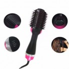 Профессиональный электрический фен для волос многофункциональная инфракрасная отрицательная ионная расческа горячего воздуха, прямые во...
