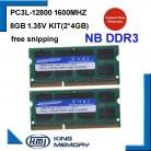 € 29.49 54% de réduction|KEMBONA Ordinateur Portable flambant neuf Memoria RAM DDR3 8 GB KIT (2*4 GB) 12800 S PC3L 1.35 V FAIBLE PUISSANCE 1600 MHz 204 pin SODIMM Garantie À Vie dans Béliers de Ordinateur et bureautique sur AliExpress.com | Alibaba Group