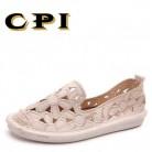 CPI/2018 новые женские сандалии, 2018 Модные женские сандалии для девочек, Летняя женская повседневная прозрачная обувь, сандалии, открытые сетчатые туфли на плоской подошве, KK 25 купить на AliExpress