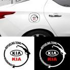 Наклейки для измерения уровня топлива, декоративные автомобильные наклейки, Светоотражающие Водонепроницаемые наклейки для кузова, украш...