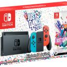 Купить Игровая приставка Nintendo Switch красный/синий + Just Dance 2019 по низкой цене с доставкой из маркетплейса Беру