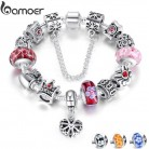 US $4.99 50% OFF|BAMOER Queen Jewelry Silver Charms Bracelet & Bangles With Queen Crown Beads Bracelet for Women ANNIVERSARY SALE 2018 PA1823-in Charm Bracelets from Jewelry & Accessories on Aliexpress.com | Alibaba Group