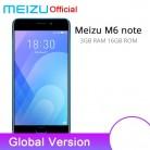7587.35 руб. |Официальный Глобальный Версия Meizu M6 Примечание 3 GB 16 GB телефона 4G LTE Snapdragon 625 Octa Core 5,5