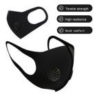 Унисекс противопылезащитная маска PM2.5 респиратор для лица, маска для очистки воздуха, дышащая маска с клапаном, фильтр, 3D крышка для рта