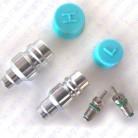Автомобильная кондиционер трубы золотник хладагента сиденье/заполнения сопла/сварки клапана/высоких и низких фторид рот клапан купить на AliExpress