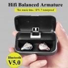 5451.36 руб. 50% СКИДКА|Bluetooth 5,0 True беспроводные наушники водостойкие Bluetooth наушники спортивные 3D стерео звук наушники с зарядным устройством для телефона купить на AliExpress