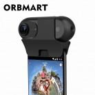 2616.98 руб. 20% СКИДКА|ORBMART Оригинал Insta 360 один 360 градусов панорамный VR полный вид выстрел телефон объектив камеры Подключение адаптер type C Micro USB режим купить на AliExpress