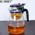 428.02 руб. 31% СКИДКА|BORREY термостойкий стеклянный чайный горшок с Infuser фильтром Китайский кунг фу Пуэр Улун чайный чайник 500 мл Kamjove чайный чайник купить на AliExpress
