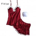 US $9.19 42% OFF|Fiklyc brand pajamas sets for women fashion lace satin pijama summer nightwear sexy lingerie pajamas pyjamas women homewear NEW-in Pajama Sets from Underwear & Sleepwears on Aliexpress.com | Alibaba Group