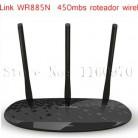 TP Link беспроводной маршрутизатор TL WR885N Roteador беспроводной 450Mbs 3 Wi Fi антенна Roteador Adsl сетевой Wi Fi маршрутизатор Бесплатная доставка купить на AliExpress