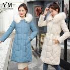 2179.37 руб. 20% СКИДКА|YuooMuoo корейский стиль Drawstring женская зимняя куртка 2019 искусственный меховой воротник плотное зимнее пальто женская одежда женские парки-in Парки from Женская одежда on Aliexpress.com | Alibaba Group