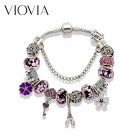 US $3.74 25% OFF|VIOVIA Crystal Beads Pandora Bracelets & Bangles Beads Silver Key and Lock Charm Bracelets For Women Diy Jewelry Gift B16008-in Charm Bracelets from Jewelry & Accessories on Aliexpress.com | Alibaba Group