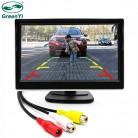 1298.43 руб. 24% СКИДКА|Зеленый Yi 5 дюймов автомобильный TFT цветной ЖК монитор заднего вида цифровой дисплей Поддержка VCD DVD gps камера с 2 видео входами-in Мониторы для авто from Автомобили и мотоциклы on Aliexpress.com | Alibaba Group