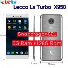 13299.28 руб. 32% СКИДКА|Оригинальный Letv LeEco Оперативная память 6 ГБ Встроенная память 128 GB le Turbo X950 Dolby с samsung экран 4G сотовый телефон 5,5