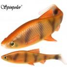 120.63 руб. 10% СКИДКА|Спинполер 3D отсканированная мягкая рыба 5 г 10 г 20 г 40 г рыболовная приманка с Т образной лопаткой хвост силиконовая приманка фланговые действия рыболовные снасти купить на AliExpress