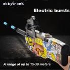 2239.37 руб. 50% СКИДКА|P90 Электрический авто игрушечный пистолет Graffiti Edition жить CS нападение Бекас оружие воды пуля всплески пистолет смешно открытый Пистолеты игрушки купить на AliExpress