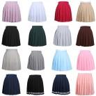 491.92 руб. 29% СКИДКА|Для женщин Косплэй плиссированные юбки для девочек школьная форма юбка одноцветное Высокая талия юбка мини юбки-in Юбки from Женская одежда on Aliexpress.com | Alibaba Group