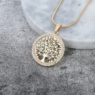 US $2.46 38% OFF|Hot Tree of Life Crystal Round Small Pendant Necklace Gold Silver Colors Bijoux Collier Elegant Women Jewelry Gifts Dropshipping-in Pendant Necklaces from Jewelry & Accessories on Aliexpress.com | Alibaba Group