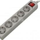 Сетевой фильтр BURO 500SL-3-G, серый