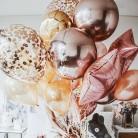120.84руб. 20% СКИДКА|Розовое золото инкрустация круглый Количество шариков воздушные шары на день рождения вечерние украшения Дети партии ИД Mubarak Globos Babyshower воздушный шар-in Воздушные шары и аксессуары from Дом и животные on AliExpress