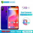 5042.45 руб. 26% СКИДКА|Ulefone S10 Pro мобильного телефона Android 8,1 5,7 дюйма MT6739WA 4 ядра 2 Гб Оперативная память 16 Гб Встроенная память 16MP + 5MP Сзади Двойной Камера 4G смартфон купить на AliExpress