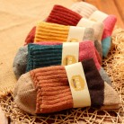 US $8.92 30% OFF|5Pairs/Lot High Quality Women Winter Vintage Rabbit Wool Socks Thicken Warm Female Fashion Patchwork Retro thermal Cotton Socks-in Socks from Underwear & Sleepwears on Aliexpress.com | Alibaba Group