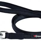 Купить Поводок для собак Gripalle прорезиненный, стальная фурнитура черный 5 м 18 мм по низкой цене с доставкой из маркетплейса Беру