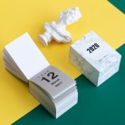 2020 NEW Kawaii Mini Small Morandi Calendar Memo Pad Schedule Creative Dates Reminder Timetable Planner Bullet Journal sl2178 on AliExpress