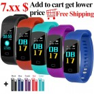 1307.63 руб. |Y5 Smart Bracelet Color Display Wristband Heart Rate Activity Fitness Tracker Smart Band Bracelet VS for XiaoMi Miband 2-in Смарт-браслеты from Бытовая электроника on Aliexpress.com | Alibaba Group