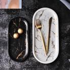 1217.43 руб. 30% СКИДКА|Золотая инкрустация, Мраморная керамическая тарелка для торта, набор посуды, поднос для обслуживания, кухонная фарфоровая Ювелирная тарелка, столовая посуда, Прямая поставка-in Блюдца и тарелки from Дом и животные on Aliexpress.com | Alibaba Group