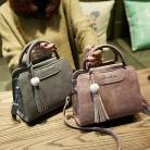 1063.73 руб. 6% СКИДКА|Yuhua, 2019 новые женские сумки, простой модный клапан, трендовая женская сумка мессенджер с кисточками, Корейская версия сумка на плечо.-in Сумки с ручками from Багаж и сумки on Aliexpress.com | Alibaba Group