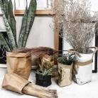 111.97 руб. 25% СКИДКА|ISHOWTIENDA Моющийся крафт бумажный мешок растительный цветочный горшок многоразовый домашний мешок для хранения повторное использование художественная ваза горшок многоразовый для домашнего декора купить на AliExpress