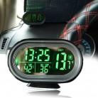 485.38 руб. 13% СКИДКА|Цифровой автомобильный жидкокристаллический Часы Вольтметр термометр Батарея Напряжение Temprerature мониторы DC 12 V 24 V заморозить оповещение-in Измерители напряжения from Орудия on Aliexpress.com | Alibaba Group
