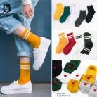 67.47 руб. 5% СКИДКА|Harajuku забавные носки для девочек для женщин различные цвета женский милый носок s дизайн школьников женщин корейский стиль Мода Д купить на AliExpress