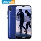 DOOGEE X90 смартфон с 6,1-дюймовым дисплеем, четырёхъядерным процессором 19:9, ОЗУ 16 ГБ, ПЗУ 3400 мАч, двумя sim-картами, 8 Мп + 5 МП, WCDMA, Android Go