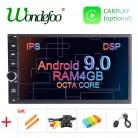 10943.73 руб. 37% СКИДКА|DSP ips 8 CORE Android 9,0 Универсальный 2 din Автомобильный мультимедийный проигрыватель Автомагнитола 2din стерео 7