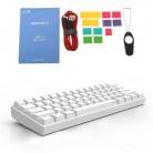 Anne Pro2 60% Bluetooth 4.0 Type-C RGB 61 Keys Mechanical Gaming Keyboard Cherry Switch Gateron Switch new dorp shipping