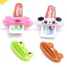 1 Uds., dispensador de pasta de dientes fácil de animales, exprimidor de tubo de pasta de dientes de plástico, Sostenedor útil de la pasta de dientes para el baño en casa-in Exprimidores de pasta de dientes from Hogar y Mascotas on AliExpress