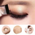 US $1.51 60% OFF Double Color Lazy Double Layer Shadow Eyeshadow Makeup Palette Pigment Waterproof Shimmer Eye Makeup Cosmetics-in Eye Shadow from Beauty & Health on AliExpress - 11.11_Double 11_Singles' Day