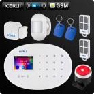 6573.65 руб. |KERUI W20 новая модель Беспроводной 2,4 дюймов Touch Панель Wi Fi GSM охранной сигнализации Системы приложение rfid карты Управление мини ПИР сирена-in Наборы блоков для сигнализации from Безопасность и защита on Aliexpress.com | Alibaba Group